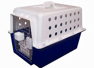 PP20 Airline Approved Pet Carry Cage Carrier Crate with Mat