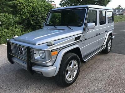 G-Class 5.0L Grand Edition 2005 Mercedes-Benz G500 Grand Edition One Owner No Reserve