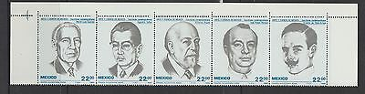 MEXICO1985 Smart People and a politician MNH SC#1397a
