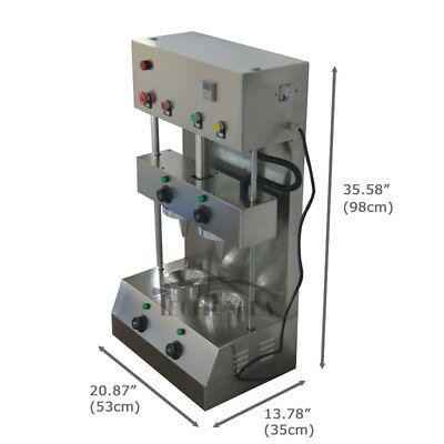 110V Commercial Umbels Model Pizza Cone Forming Making Machine Rotational Oven