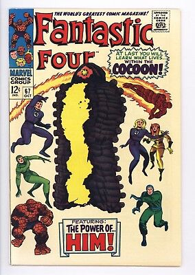 Fantastic Four #67 Vol 1 PERFECT High Grade 1st Appearance of HIM Adam Warlock