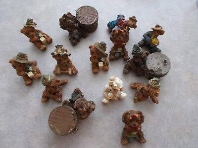 Assorted Teddy Figurines