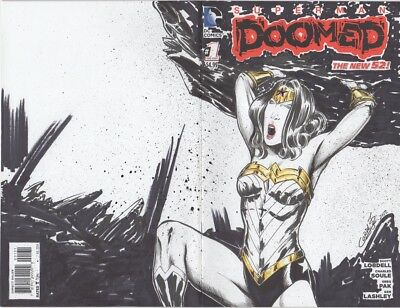 Doomed #1 Wonder Woman Variant Sketch Cover / Original Art by Willie Cordy