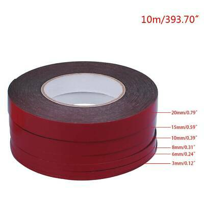 3-20mm 25m Double Sided Adhesive Tape Red Stickers For Mobile Phone LCD Screen