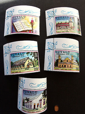 Tuvalu 1976 Christmas Complete Set Mint Never Hinged
