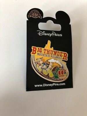 Big Thunder Railroad Ride Disney Pin WDW DLR NOC