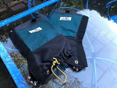 MACPAC HIKING GAITERS. Made in New Zealand. EUC