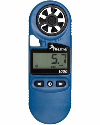 Kestrel 1000 POCKET Outdoor Windmesser Windmeter Propellertechnologie blau