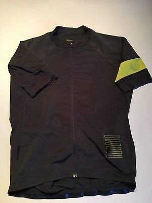 Rapha Pro Team Maillot Jersey Hommes Mens Medium Gris/Chartreuse (yellow)