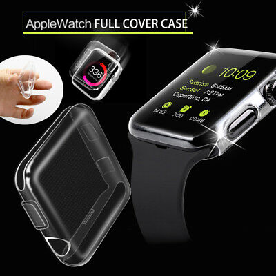 iWATCH Case Cover Protector Full Protect TPU Case For APPLE WATCH Series 3 2 1