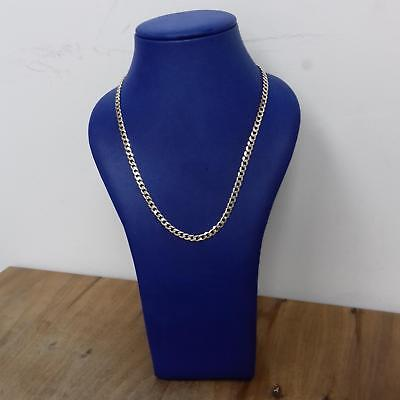 9ct Yellow Gold Curb Chain 13.9g