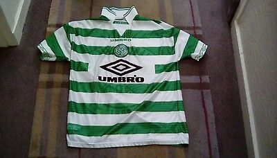 Celtic football shirt UMBRO late 1990s size large