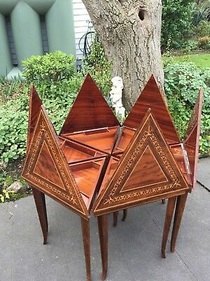 Set of 6 Musical, Triangle Side / Occasional Tables!  How fabulous are these?!