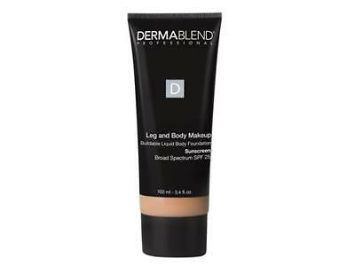 Dermablend Leg and Body Makeup Light Sand 25w SPF25 3.4oz / 100ml NEW IN BOX