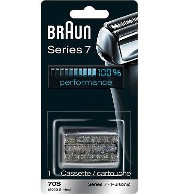 Braun 70S Replacement Cutter Foil Cassette Series 7 Pulsonic 9000 ##1DAY SALE!!