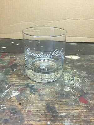 Canadian Club Classic 12 Year Whisky Glass Aged 12 Years FREE SHIP
