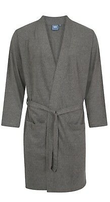 b169328a17 Mens 100% Pure Jersey Cotton Soft dressing gown robe Tie Front Lightweight