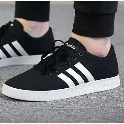 ADIDAS EASY VULC 2.0 Black Canvas BB7209 Casual Trainers