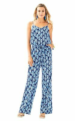 7d2c677c2bb3 LILLY PULITZER FOR Target Boom Boom Ladies Satin Jumpsuit Size XL ...