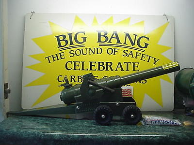 Bangsite + New In Box 155Mm 2018 Big Bang Cannon Carbide Cast Iron Conestoga Toy