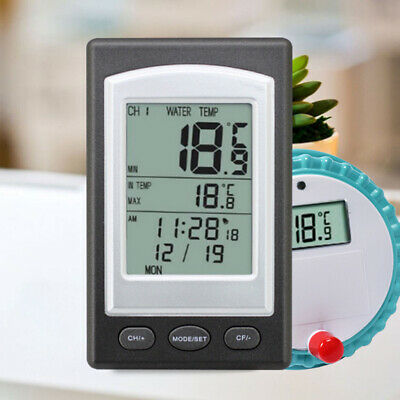 Wireless Digital Display Swimming Pool Thermometer SPA Floating Thermometer