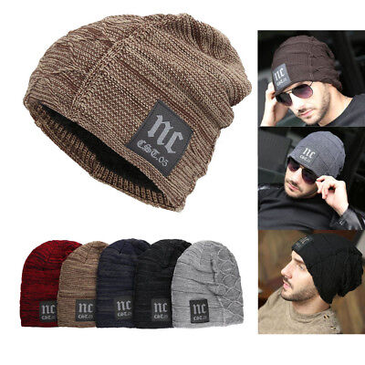 17adb1761042a Winter Snow Warm Wooly Unisex Mens Knitted Beanie Hat Ladies Ski Hat Cap  Comfort