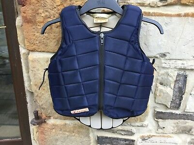 Racesafe Childs Body Protector, RS 2010 Size Childs Large Standard back
