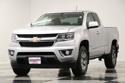 Chevrolet Colorado 4X4 LT Camera Silver Extended Cab 4WD Used Like New Low Miles Bluetooth Colorado Ext Power Options 16 17 2016 17