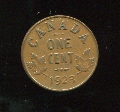 ** Canada 1923 (Key Date) Small Cent **