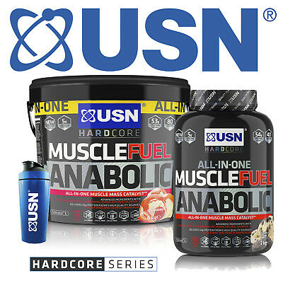 USN Muscle Fuel Anabolic All in One - 2kg / 4kg / 5.2kg - All Sizes & Flavours