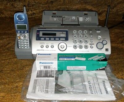 Panasonic KX-FG2451 Plain Paper Fax 2.4GHz Cordless Phone and Digital Answer