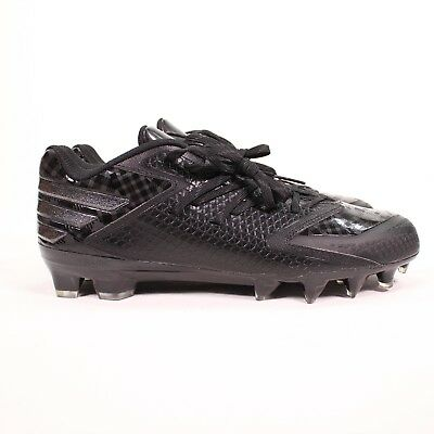 ba6a84ebf Adidas Freak X Carbon Low Football Cleats Mens 10 Black on Black Q16056