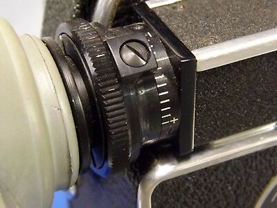 Bolex H8/H16 RX Diopter Adjuster for 10x Reflex Viewfinders