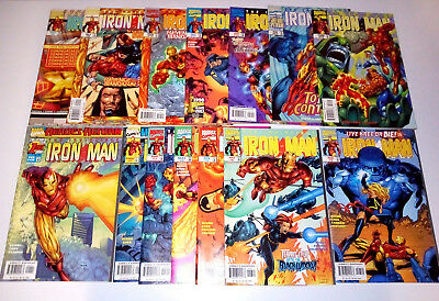 Lot 14 comics IRON MAN Vol.3 (Heroes Return - Marvel - Kurt Busiek) 1998