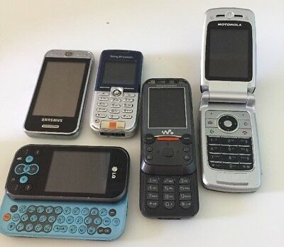 5 x Vintage Mobile Phones for Spares or Repair - Lot 5