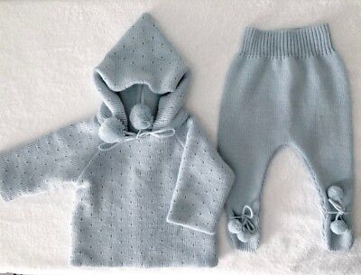 MEBI Knitted Baby Outfit 6 Months