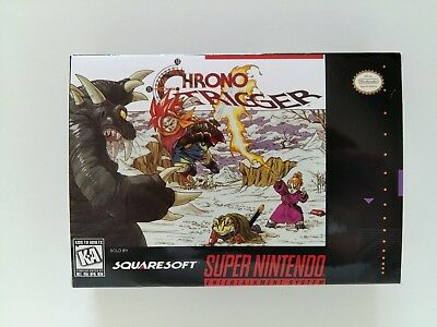 Chrono Trigger SNES Art Case NTSC version