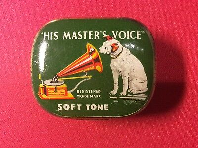 Needle tin HIS MASTER'S VOICE