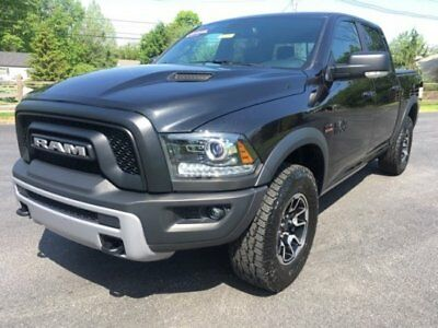 2017 Dodge Ram 1500 Rebel 2017 Ram 4x4 quad cab 1500 Rebel