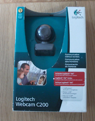 Logitech Webcam C200 Webcam1.3-MP Photos