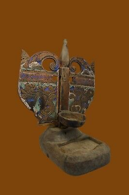 The Finest Antique Ceremonial Jodog Oil Lamp from Java, Indonesia