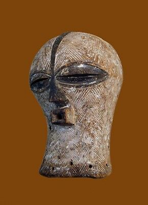 A Rare early 20th century Luba / Songye Kifwebe African Mask ~ African Art