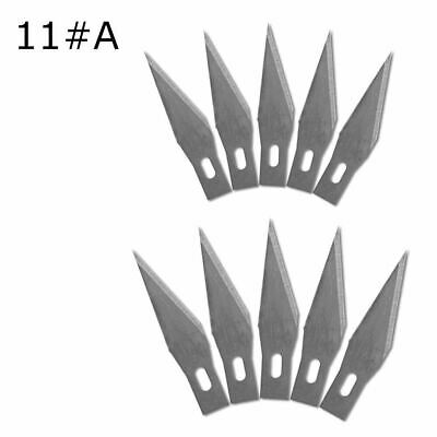 Scalpel Blades 10 PCS 11# Wood Carving Tool Blade Replacement Scalpel Cutting