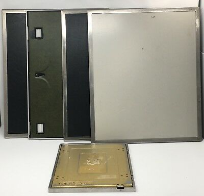 LOT OF used Xray Cassettes, Wolf, Bar Ray, Sigma 35x43, 14x17, 11,9 AS-IS