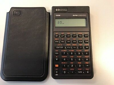 Hewlett Packard 132S RPN Scientific Good Working Condition Mint Condition NEW