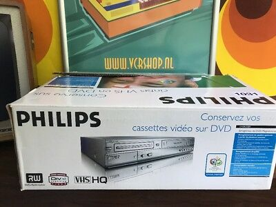 Philips DVDR3320V - 6 Head VHS &  DVD Recorder
