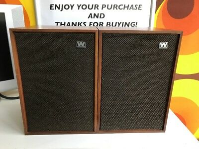 Wharfedale Denton 2 Speakers - Made In England
