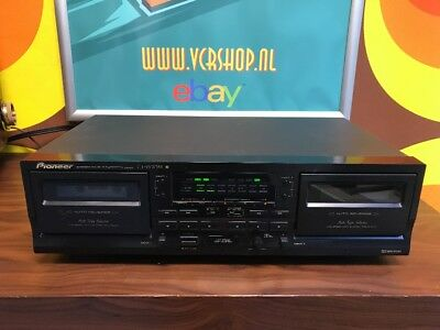 Pioneer CT-W208R Double Stereo Cassette Deck