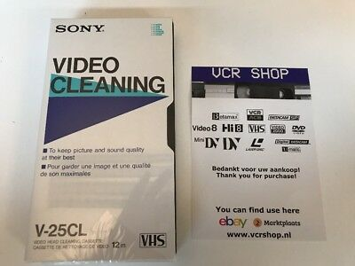 Sony Video Cleaning V-25CL