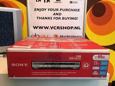 Sony RDR-HX520 - DVD Recorder + HDD 80GB (BOXED)